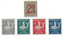 Hollanti 1929 - Vuosi - Käyttämätön