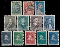 Holland 1937 - Årgang - Ubrugt