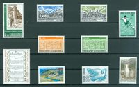 Fransk Andorra - Årgang  1986 - Postfrisk - YT 345/54