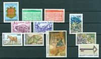 Fransk Andorra - Årgang  1987 - Postfrisk - YT 355/65