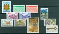Andorre français - Année complète  1987 - Neuf - YT 355/65