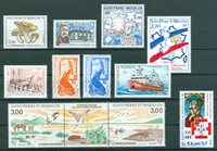 Saint-Pierre & Miquelon - Année complète  1987 - Neuf - YT 475/85