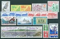 Saint-Pierre & Miquelon - Année complète  1991 - Neuf - YT 534/54