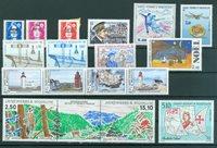 Saint-Pierre & Miquelon - Année complète  1992 - Neuf - YT 555/71