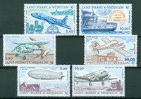 St. Pierre & Miq.- Année compl.Poste aérienne 1987-1990 - Neuf - YT PA64/69