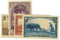 Frankrig 1940 - AFA nr. 448-51 - Postfrisk