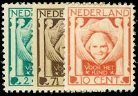 Holland 1924 - AFA nr. 165-67 - Postfrisk