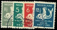 Holland 129 - AFA nr. 229-32 - Stemplet