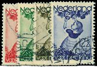 Holland 1935 - AFA nr. 287-90 - Stemplet