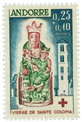 Fransk Andorra 1964 - AFA nr. 190 - Postfrisk