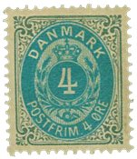 Danmark 1875 - AFA nr. 23 - Ubrugt