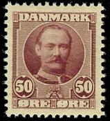 Danmark 1907 - AFA nr. 58 - Postfrisk