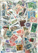 Danmark - 1450 forskellige frimærker