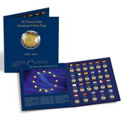 Møntalbum PRESSO - *30 Jahre Europaflagge*