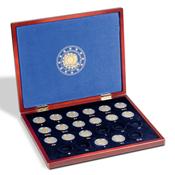 Coffret VOLTERRA UNO pour les 23 pièces de 2¤ commémoratives « 30 ans du dr