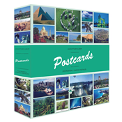 POSTCARDS album 6 - 50 integrated sheets - 600 postcards - Lighthouse