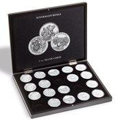 Møntkassette VOLTERRA - 40 mm 1 oz. Australsk Koala sølvmønt i kapsler