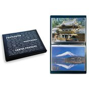Album de poche ROUTE Postcards pour 40 cartes postales, avec 20 feuilles re