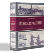 Album for 200 historical postcards - 50 integrated  sheets -  Lighthouse