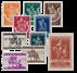 Belgien 1941 - OBP 603/12 - Postfrisk