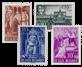 Belgien 1948 - Postfrisk - OBP 773/76