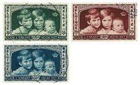 Belgique - Enfants royaux 1935 - Obl. (OBP 404-06)