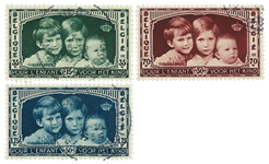 Belgium 1935 - OBP 404-06 - Cancelled