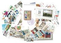 以色列奢侈收集1984年-1993年的邮票