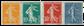 France 1921-22 - YT 158-61 - Neuf avec charnière
