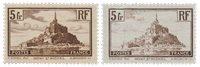 France 1929-31 - YT 260 I+II - Neuf avec charnière