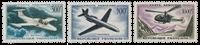 France 1957-59 - YT PA35-37 - Neuf avec charnière