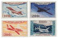 France 1954 - YT PA30-33 - Neuf avec charnière