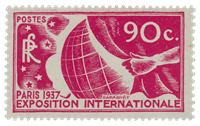 France 1936 - YT 326 - Neuf avec charnière