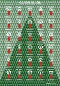 Islas Feroe - Viñetas de Navidad 2015 - Sello nuevo