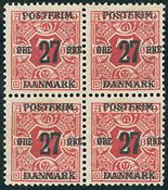 Danmark - 27/7 øre provisorium