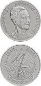 Danmark 2015 - Dronning Margrethe II 75 år - 500 kr. sølvmønt