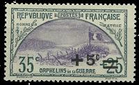 Frankrig 1922 - YT 166 - Ubrugt