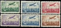 France 1936 - YT PA.8/13 - Neuf avec charnière
