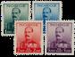 Norge 1937-38 - AFA 192/95 - Postfrisk