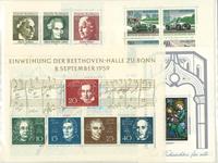 Länsi-Saksa - 33 postituoretta pienoisarkkia