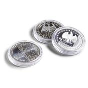 Runde møntkapsler ULTRA - Mønt Ø 32,5 mm, f. eks. 10 + 20 Euro - 100 Stk.