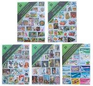 Paquets thématiques - 12 paquets contenant 50 timbres thématiques