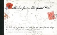 Guernesey - Histoires de la 1ère guerre mondiale - Carnet de prestige neuf