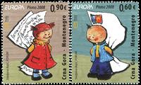 Montenegro - Europa 2008 - Postfrisk sæt 2v