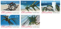 Norfolk Island - Christmas 2015 - Mint set 5v