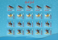 Åland Islands - Christmas 2015 - Christmas Seal Sheet