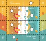 Bosnie Herc. - Europa 2010 Livres pour enfants - Bloc-feuillet neuf