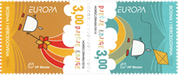 Bosnie Herc. - Europa 2010 Livres pour enfants - Série neuve 2v