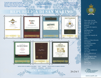 San Marino - Wines - Mint souvenir sheet