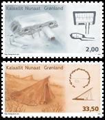 Grønland - Arkitektur I - Postfrisk sæt 2v